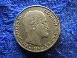 DENMARK 16 SKILLING 1856, KM765 - Danemark
