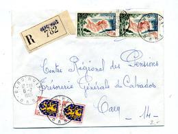 Lettre Recommandée Berd'huis Sur Azur - Marcophilie (Lettres)