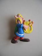 FIGURINE ASTERIX ASSURANCETOURIX BULLY 1974 TBE (1) - Asterix & Obelix