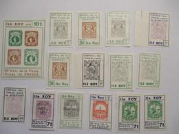Frankreich Ile Roy 1 Block + 21 Marken Postfrisch (66396) - France