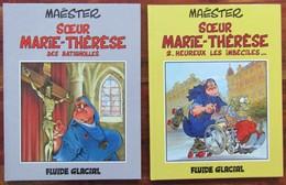 Soeur Marie Thérèse Des Batignolles Lot Tomes 1 Et 2 - Lots De Plusieurs BD