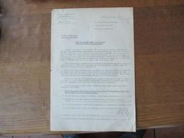 PARIS LE 30 MAI 1941 LE REPARTITEUR DU CHARBON  TAUX DE RATIONNEMENT A APPLIQUER AUX DIFFERENTS CONSOMMATEURS - Documents Historiques