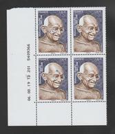 FRANCE / 2019 / Y&T N° 5346 ** : Mahatma Gandhi X 4 - Coin Daté 2019 08 06 ( ) - TD 201 - Esquina Con Fecha
