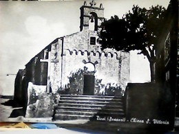 TISSI  SASSARI LA CHIESA  SANTA VITTORIA V1956 HL5040 - Sassari
