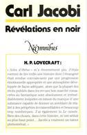 Carl Jacobi - Révélations En Noir - NéOmnibus 1990 - Fantastic