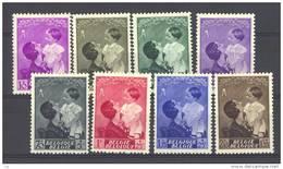 Belgique  -  1937  :  Yv  447-57  * - Belgique