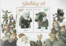 ISLANDE 2000 - Bloc - Joyeux Noël - Christmas - Neuf** - Mint - Blocs-feuillets