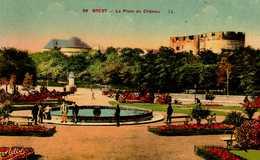 29   Finistere    Brest    La Place Du Château - Brest
