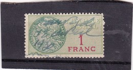 T.F.S.U N°22 - Revenue Stamps