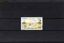 1 Timbre  (2019)  ( Le Canal De Suez ( 150 Ans  ) - Sonstige