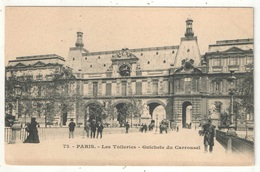 75 - PARIS 1 - Les Tuileries - Guichets Du Carrousel - Arrondissement: 01