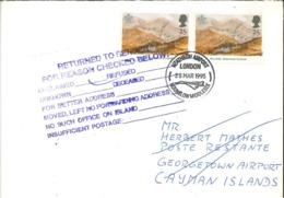 Ben Arkle Sutherland Schottland - Heathrow Airport Hounslow Middlesex - Return To Sender - 1952-.... (Elizabeth II)