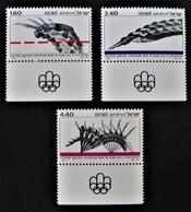 XXI EMES JEUX OLYMPIQUES DE MONTREAL 1976 - NEUFS ** - YT 611/13 - MI 672/74 - Neufs (avec Tabs)