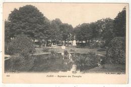 75 - PARIS 3 - Square Du Temple - BF 258 - Paris (03)