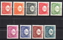 Col17  Colonie Taxe  AOF Afrique N° 1 à 9  Neuf XX MNH  Cote 8,00€ - Neufs