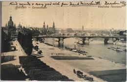 Dresda 02 - Dresden - Terrasenufer Panorama - Dresden
