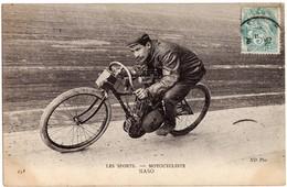 Motos Moto Motocyclette Motorbike - Les SPORTS - MOTOCYCLISTE - NASO - Moto De Course Sur Circuit - 1909 - Voitures De Tourisme