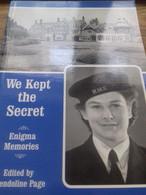 We Kept The Secret Enigma Memories GWENDOLINE PAGE Reeve 2002 - Brits Leger