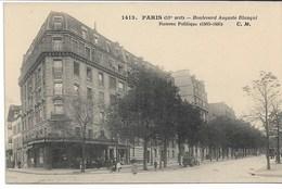 CPA PARIS XIIIème Arrondt Boulevard Auguste Blanqui Homme Politique 1805-1881 - Arrondissement: 13
