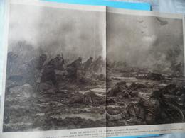 GUERRE DE 1914-1918  -  DANS LA BATAILLE - LA CONTRE ATTAQUE FRANCAISE  -  Voir Ci-dessouss - Documents
