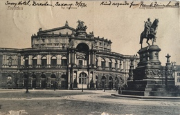 Dresda 06 - Dresden - Konig Johan Denkmal 1911 - Dresden