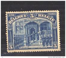 Belgique  :  COB  147  * - 1915-1920 Albert I