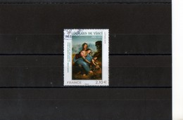 1 Timbre  (2019)  (lèonard De Vinci 1452-1519 ) - Sonstige