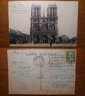 Paris Parigi Notre Dame De Paris, La Facate - 293 Viaggiata 1932 Anni '30 Francia France - Notre Dame De Paris