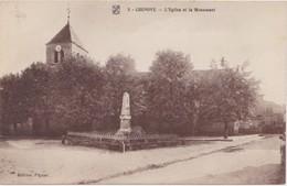 CHENOVE L Eglise Et Le Monument - Chenove