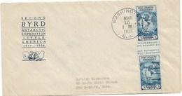 """10 - Etats Unis 768a N° Scott De 1935 Tirage """" Farley's Follies""""  Sur FDC Illustrée Du 15 Mars 1935 WASHINGTON. 1er Jour - Neufs"""