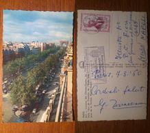 Paris Parigi L'avenue Des Champs Elysees - 512 Viaggiata 1962 Anni '60 Francia France - Notre Dame De Paris