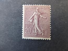 FRANCE Type SEMEUSE LIGNEE N° 131  Cote 190 €  Neufs Sans Charnière MNH - 1903-60 Semeuse Lignée