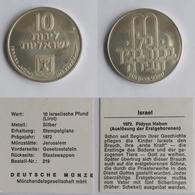 Israel 10lirot,5730 (1972) Pideon Haben - Israël