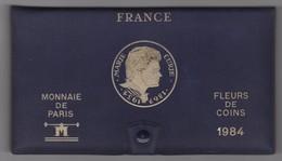 SÉRIE DE 12 PIÈCES FLEURS DE COINS 1984 MONNAIE DE PARIS - France