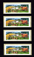 Atm-Lisa / Brother / Lot 0.95, 0.97, 1.16 Et 1.40 € Salon De L'agriculture 2020 - 2010-... Vignettes Illustrées