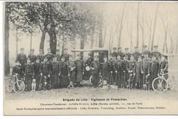 CPA NORD 59 LILLE  Brigade De Lille Vigilance Et Protection  -Chiens Policiers - Bureau Central  127 Rue De Paris - Lille