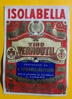 12367 -  Vino Vermouth Isolabella Lugano 3 Anciennes étiquettes - Otros