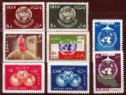 IRAN 4  X  SETS   1960'S  UN  MNH - Iran