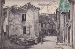 CPA 51 CHATILLON SUR MARNE Rue De La Madeleine Animée - Châtillon-sur-Marne