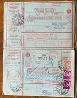 SERBIA -MONTENEGRO - NOVI SAD -ULCINJ  DULCIGNO - BULLETIN D'ESPEDITION - SPROVODNI LIST - JUGOSLAVIA  - 27/2/39 - 1931-1941 Regno Di Jugoslavia
