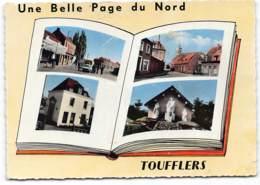 Toufflers. Multivues. Une Belle Page De France.  Edit Perla  Ecrite 196?  Etat Moyen - Autres Communes
