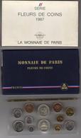 SÉRIE DE 12 PIÈCES FLEURS DE COINS 1987 MONNAIE DE PARIS - France