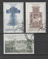 Faeroeer / 1989 / Mi. 179-181 Gestempelt (AG68) - Faroe Islands