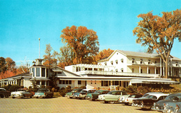 Rosemère Laurentides Québec - Thorncliffe House - Restaurant Hotel - 1960s Cars Voitures - Unused - 2 Scans - Quebec