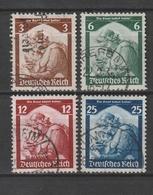 Deutsches Reich / 1935 / Mi. 565-568 Gestempelt (AG72) - Usados
