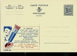 Publibel Neuve N° 1626 ( Pour Votre Dentier: DENTUR - EZE, Colle) - Entiers Postaux