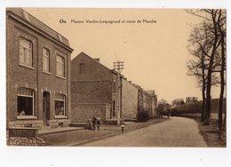 ON - Maison Verdin - Lespagnard Et Route De Marche  *Editeur Imprimerie Joseph Lespagnard, On-Jemelle* - Marche-en-Famenne