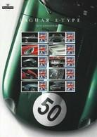 Gran Bretagna, 2011 CS13 50° Ann. Della Jaguar E, L'auto Più Bella Smiler, Con Custodia, Perfetto - Personalisierte Briefmarken