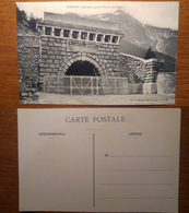 Modane Entree Du Grand Tunnel Du Frejus  - NON Viaggiata Anni '10 Francia France - Modane