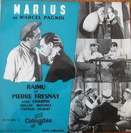 VINYL 33t 25 Cm : Marius De Marcel Pagnol, Raimu, Pierre Fresnay, Charpin. Columbia 33 FH 501 - Formats Spéciaux